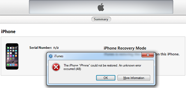 iTunes Error 48 Fix