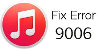 iTunes Error 9006