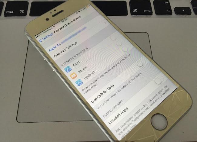 Verify Apple ID iPhone