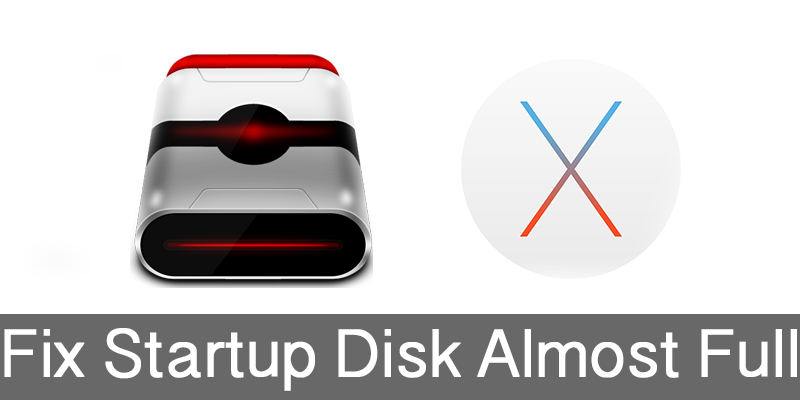 startup disk is almost full