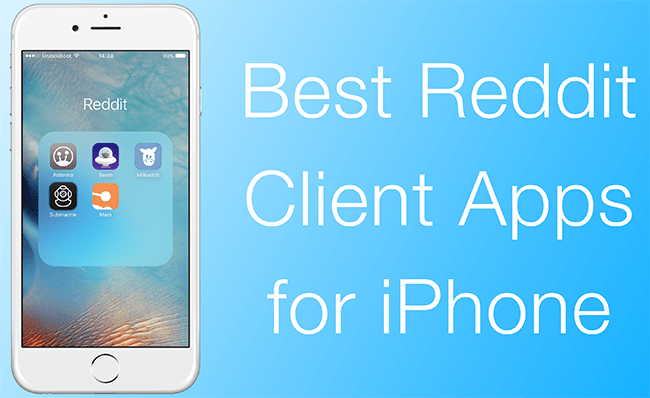 Best 5 Reddit Clients for iPhone to Download in 2018