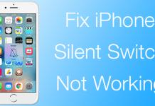 silent button fix iphone
