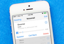 visual voicemail fix