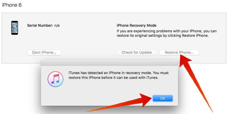 restore icloud locked iphone