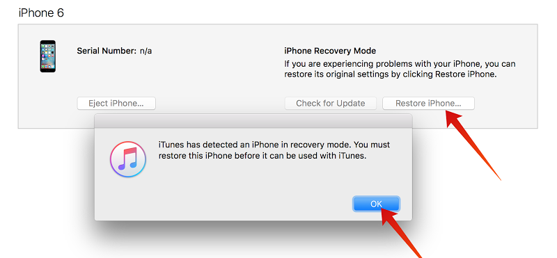 how to fix recovery mode iphone apple support