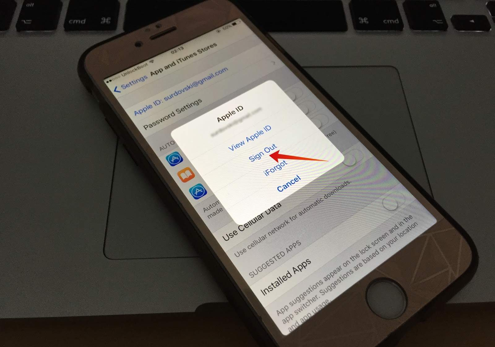 Delete Apple Account From Iphone