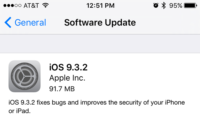 Download iOS 9.3.2