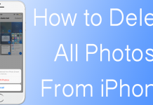delete iphone photos