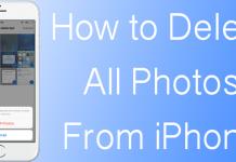 delete iphone photos