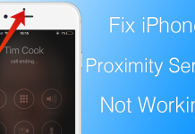 iphone proximity sensor fix