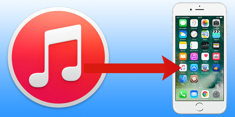 Copy music from iTunes to iPhone