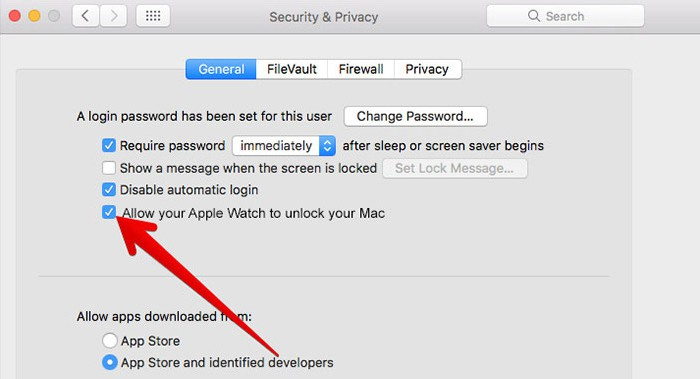 Use Apple Watch to Unlock Mac
