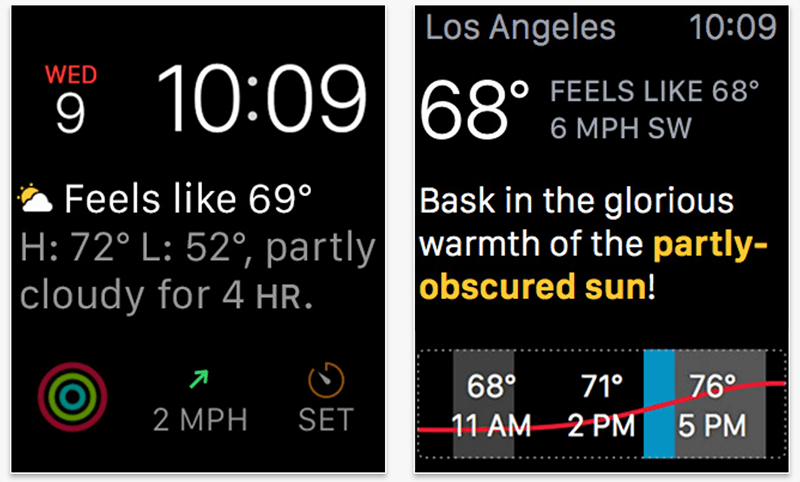 Best Apple Watch app for Weather