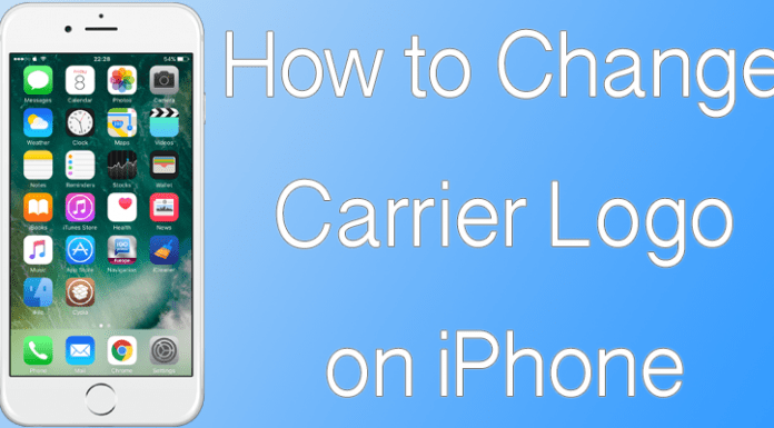 Change Carrier Logo On iPhone