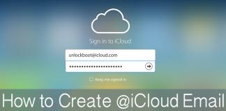 create icloud email