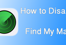 disable find my mac