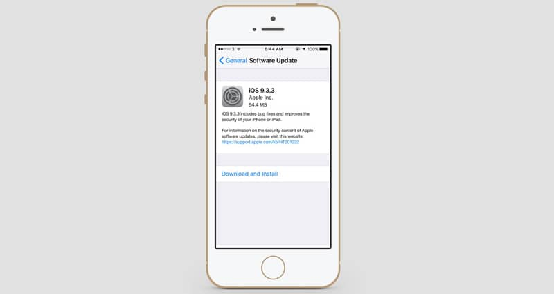 Download iOS 9.3.3