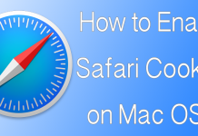 enable safari cookies