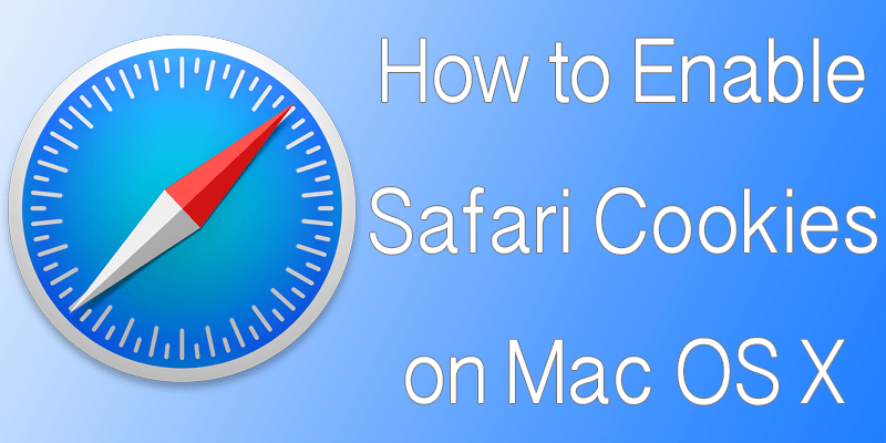 enable cookies in safari