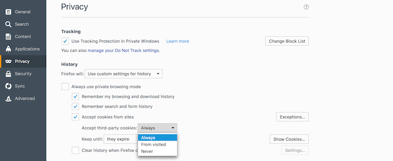 How to Enable Cookies in Safari / Firefox / Chrome on a Mac ...