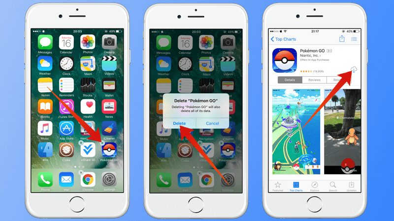 Pokemon Go Crashing on iPhone