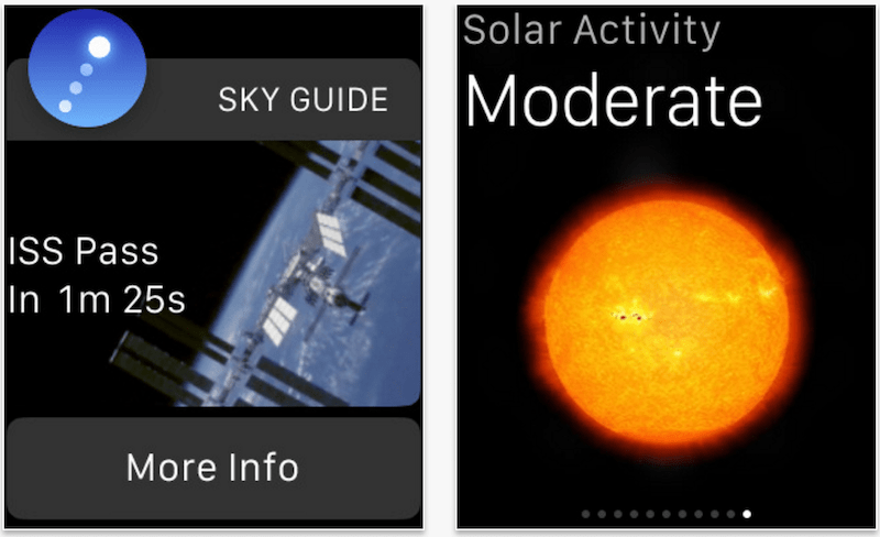 Sky Guide Apple Watch app