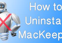 uninstall mackeeper mac