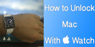 unlock mac with iwatch