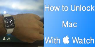 unlock mac with iwatch