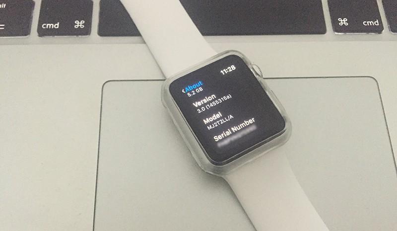 Downgrade WatchOS 3 to 2