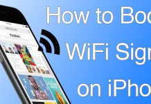 boost iphone wifi