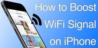 boost iphone wifi