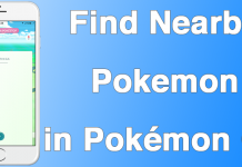 find nearby pokemon