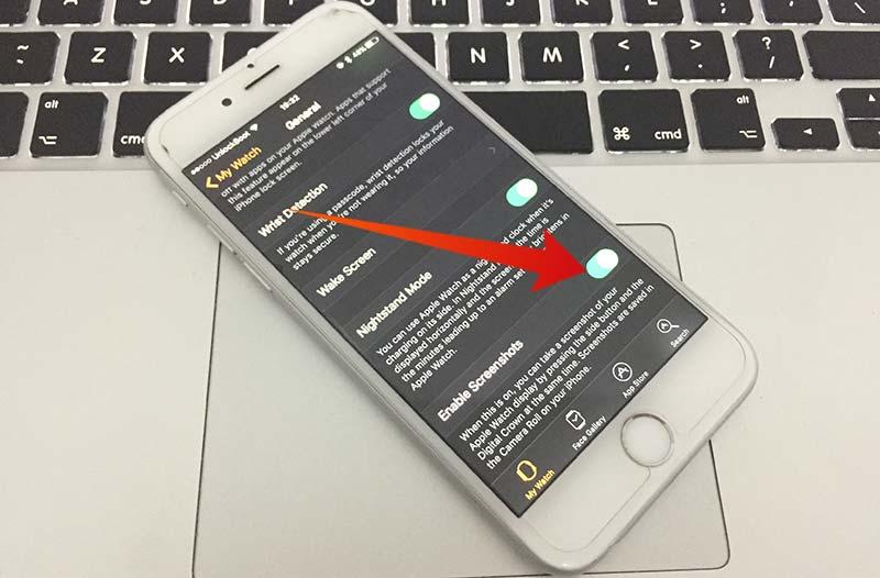 take screenshot on apple watchos 3