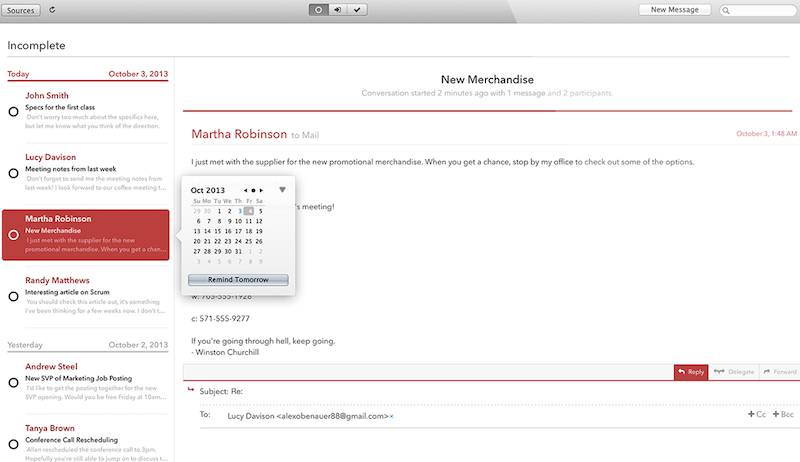 Mail Pilot App for Mac