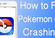 pokemon go crashing fix