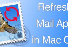 refresh mail mac