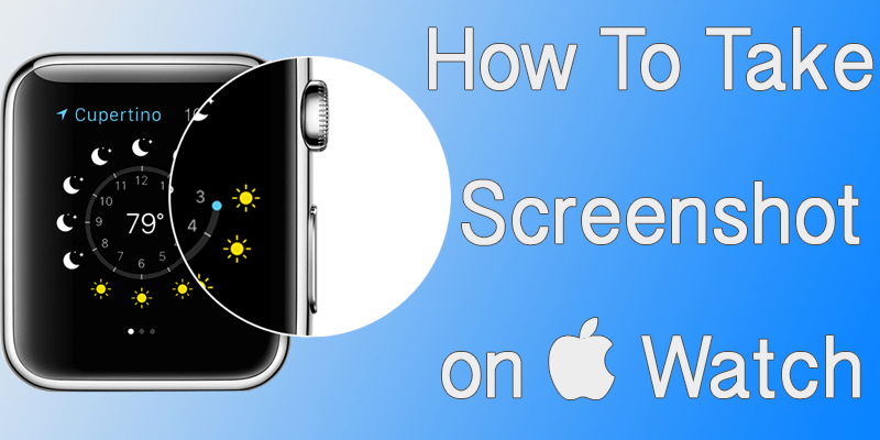 take screenshot on apple watch