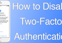 two factor authentication ios