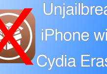 unjailbreak iphone