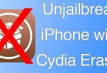unjailbreak iphone