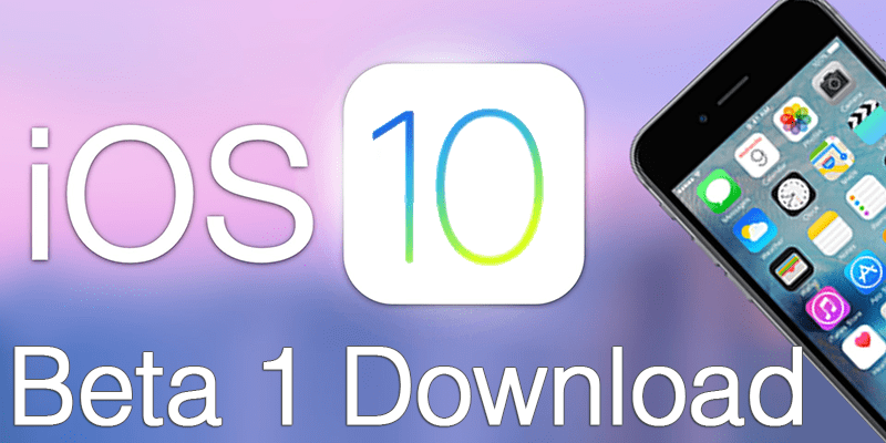 Download iOS 10 GM