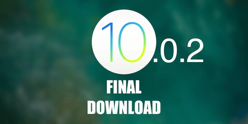 Download iOS 10.0.2 IPSW