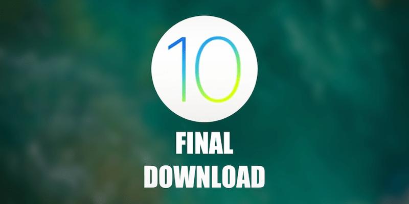 Download iOS 10 IPSW