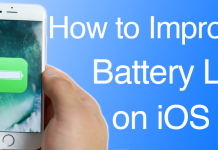 improve battery ios