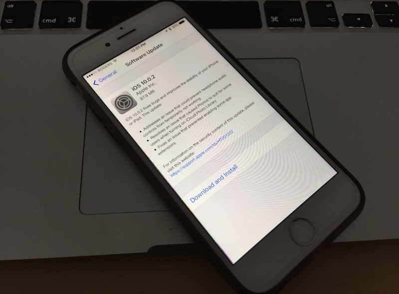 iOS 10.0.2 IPSW Download
