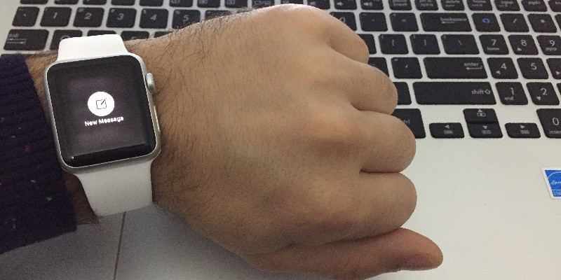 Write Message on Apple Watch
