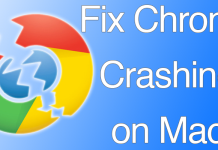 chrome crashing mac
