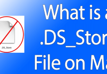 ds store file mac