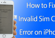 fix invalid sim error